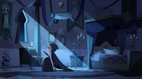 S3E2 Young Moon sitting alone in her bedroom