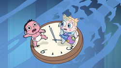 S1E17 Star and Marco aged down