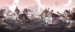 Marco and the King background art 1