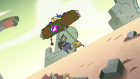 S2E35 Ludo carrying the book of spells downhill