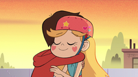 S2E5 Star Butterfly and Marco hugging