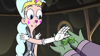 S3E5 Queen Moon takes dice from Buff Frog