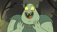S2E12 Buff Frog smiling at his babies
