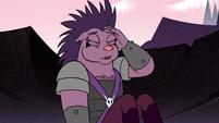 S2E12 Porcupine monster rubbing her head