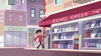 S2E24 Marco Diaz struts confidently through town