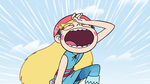 S2E5 Star Butterfly groaning in frustration