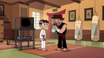 S2E4 Dojo Sensei respectfully bows to Marco