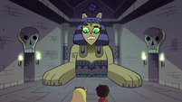 S1E8 Riddle Sphinx doesn't know what the internet is
