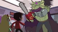 S2E18 Rasticore threatening Star and Marco