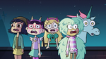 S2E41 Star and her girlfriends enter the roof party