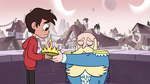S3E4 King River giving his crown to Marco Diaz