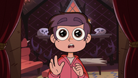 S2E19 Marco in awe of Tom's Love Sentence shrine