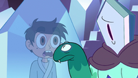 S2E34 Rhombulus taps on Marco's crystal cage