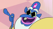 S2E1 Glossaryck with diamonds in his eyes