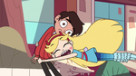 S2E26 Star Butterfly tackles Marco to the ground