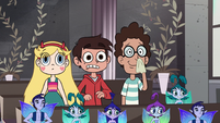 S1E12 Star, Marco and Alfonzo watch the wedding