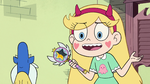 S2E23 Star Butterfly shrugging 'maybe'