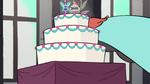 S1E12 Ferguson hides behind wedding cake