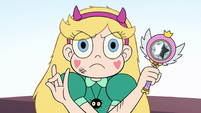 S2E14 Star Butterfly posing with her magic wand