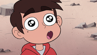 S2E15 Marco Diaz in awe of the giant hill