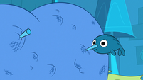 S1E14 Narwhal in Princess Smooshy's butt