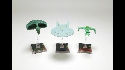 """Game On - Star Trek Attack Wing """"Vor'Cha Class"""" Ship"""