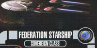 Federation Starship - Sovereign Class (Cost 30)