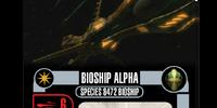 Bioship Alpha - Species 8472 Bioship (Cost 38)