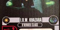 I.R.W. Khazara - D'deridex Class (Cost 30)