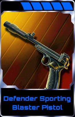 Defender Sporting Blaster Pistol