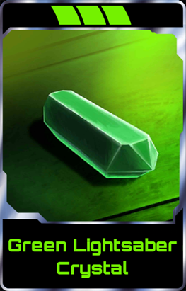 Green Lightsaber Crystal