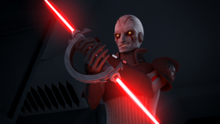 The Inquisitors lightsaber
