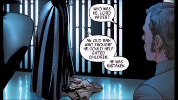 Vader kill kenobi question