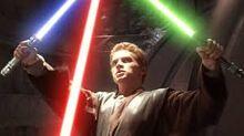 Skywalker on geonosis