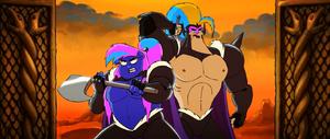 Killgar Hogstrong The Starbarians' Die