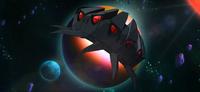 Episode 2 primitive planet Eternoid spaceship
