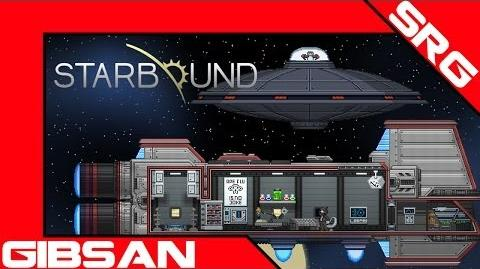 Starbound Beta Penguin UFO Re-Engage.