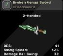 Broken Venus Sword