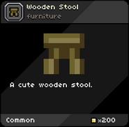 Woode Stool infobox