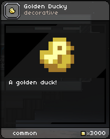 Starbound GoldenDucky