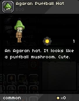 Agaran Puffball Hat
