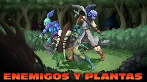 STARBOUND ESPAÑOL - EP 02 - ENEMIGOS Y PLANTAS