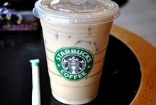 Starbucks White Chocolate Mocha Latte