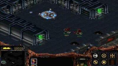 Starcraft - Zerg Mission 5 The Amerigo + Cinematic