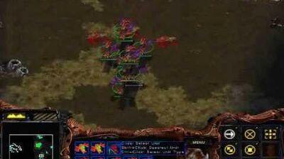 Starcraft Brood War - Zerg Mission 6 Fury of the Swarm