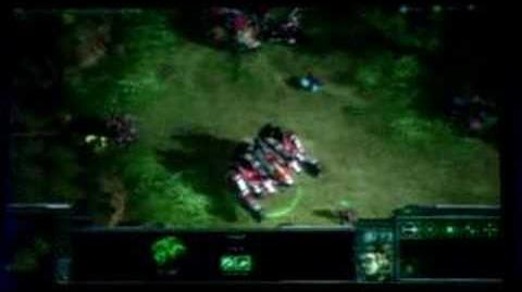 Starcraft II Blizzcon 2007 - Terran Walkthrough 2