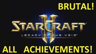 Starcraft 2 - THE GROWING SHADOW - Brutal (All Achievements) LOTV 2