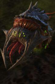 Larva SC2 Head1