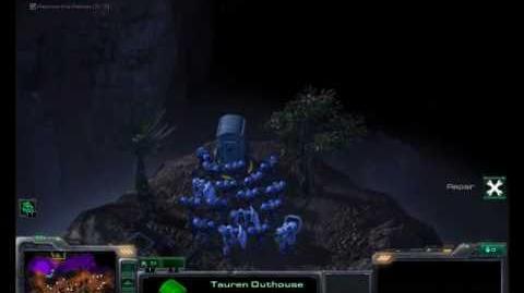StarCraft 2 Tauren Outhouse