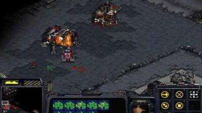 Starcraft - Terran Mission 10 The Hammer Falls + Ending